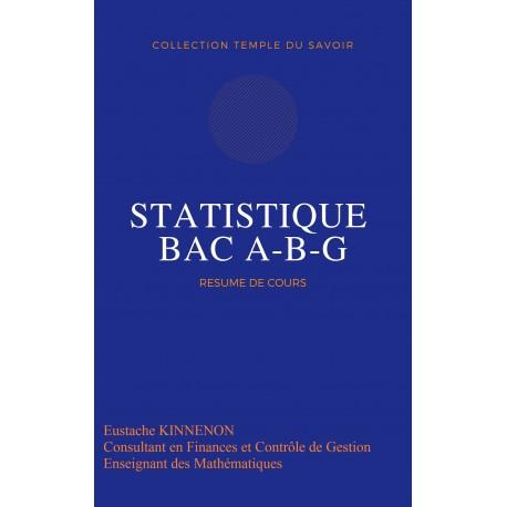 STATISTIQUE Tle G, A et B