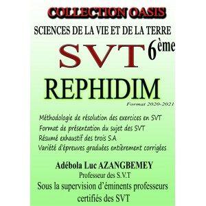 Page de couverture Rephidim  6ème