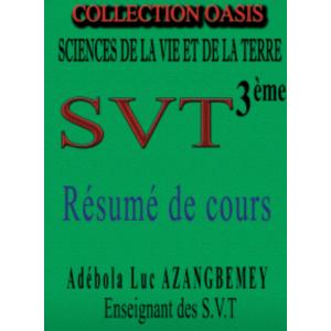 Résumé de cours SVT 3ème