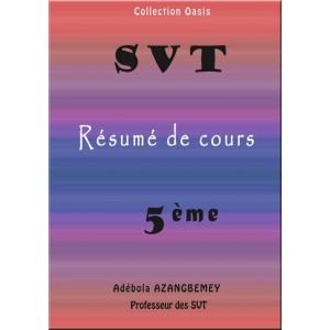 RÉSUMÉ DE COURS SVT 5ÈME