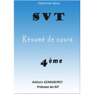 RÉSUMÉ DE COURS SVT 4EME